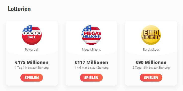 megalotto lotterien
