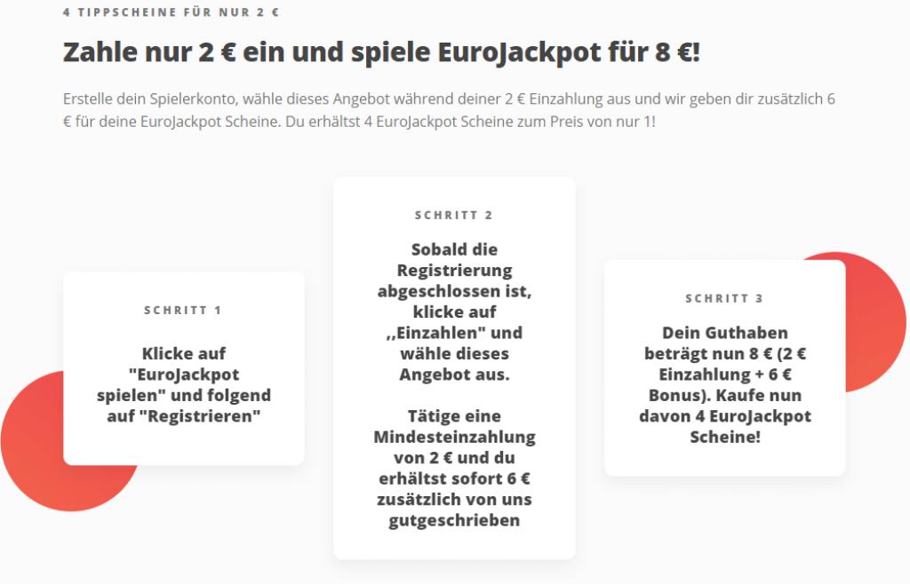 Megalotto Eurojackpot Gutschein